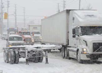 Massachusetts, New York, Connecticut, New Hampshire and Rhode Island have declared states of emergency as Winter Storm Nemo begins dumping a massive three feet of snow across the North East Coast