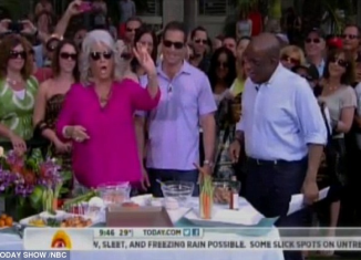 Paula Deen shocked on Friday morning after a rather bizarre appearance on the Today show