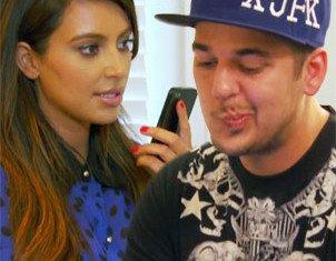 Rob Kardashian's anger as Kim refuses to sort rap gig with Kanye West
