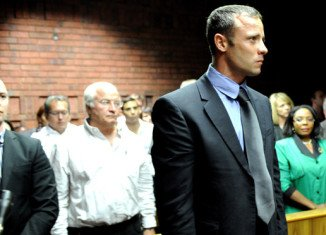 "South African prosecutors have said that a witness heard ""non-stop shouting"" coming from Oscar Pistorius' mansion before shots were fired early on February 14"