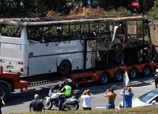 The bus bombing that killed five Israelis and a driver in Burgas, Bulgaria, last year was most likely the work of Lebanon's Hezbollah militants