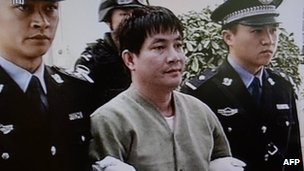 Among the prisoners was Naw Kham, a Burmese man thought to have been one of the most powerful warlords in the Golden Triangle of Thailand, Laos and Burma