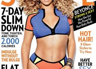 Beyonce appears on the latest issue of Shape magazine