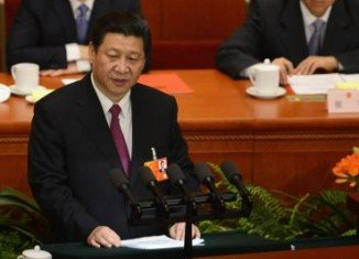 "China's new President Xi Jinping has said he will fight for ""the great renaissance of the Chinese nation,"" in his first speech as head of state"