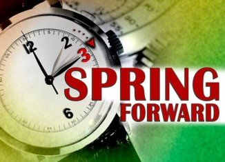 Daylight Saving Time will begin early tomorrow morning, so don't forget to change your clocks