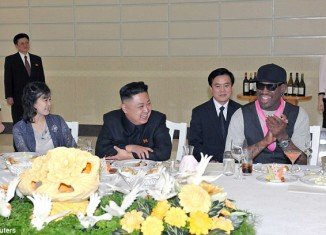 Dennis Rodman, who recently visited North Korea, says Kim Jong-un doesn't want war with the United States