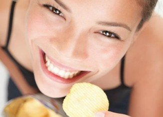 Chips are addictive, author claims.