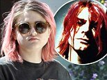 Frances Bean Cobain stepped out in LA last week looking just like late father Kurt Cobain