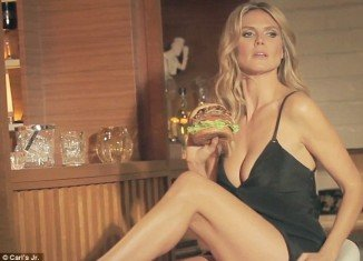 Heidi Klum's commercial for Carl's Jr.'s Jim Beam Bourbon Burger is probably the hottest in the history of fast food commercials