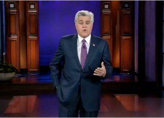 "Jay Leno has branded the NBC executives ""snakes"" live on air after rumors that he is to be replaced by Jimmy Fallon on The Tonight Show"