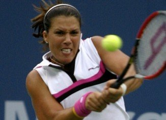 Jennifer Capriati is accused of getting into an argument with ex-boyfriend Ivan Brannan on February 14 near the men's locker room of the gym