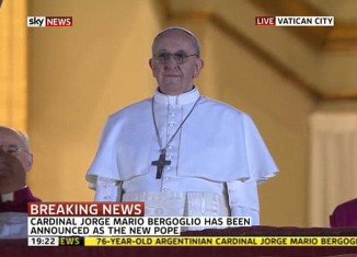 Jorge Mario Bergoglio, the archbishop of Buenos Aires, has been elected the 266th Roman Catholic Church's new Pope