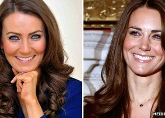 "Kate Middleton lookalike Heidi Agan has ""become pregnant"" to maintain accuracy"