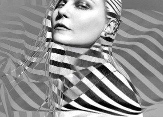 Kirsten Dunst transformed her look for Bullett Magazine shoot