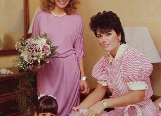Kris Jenner appears to remain remarkably unchanged in a 30-year old family photo shared by her cousin Cici Bussey on Twitter