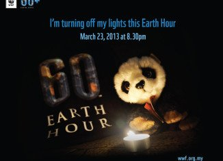 Millions of people around the world switch off their lights for an hour to mark Earth Hour on the last Saturday of March each year