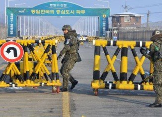 North Korea has announced it severs Kaesong military hotline with South Korea
