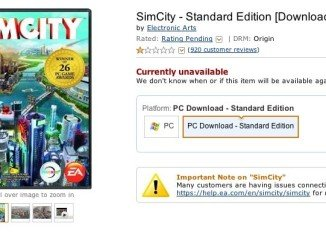 Ongoing problems with the latest version of SimCity led Amazon to briefly stop selling the game