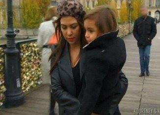 Scott Disick left Kourtney Kardashian cold and abandoned on the romantic Pont l'Archeveche bridge in Paris