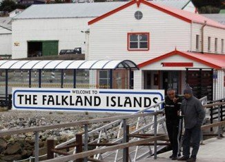 The Falkland Islands voters are going to the polls on Sunday and Monday in a referendum on whether to remain a British Overseas Territory