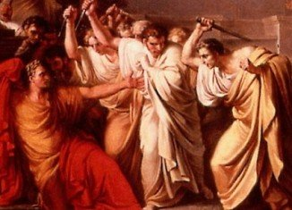 The Ides of March fall on March 15, the date becoming intimately associated with the assassination of Julius Caesar