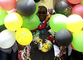 Thousands of people have attended a lavish party to celebrate Zimbabwe's President Robert Mugabe's 89th birthday in the mining town of Bindura