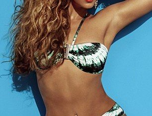 Beyoncé shows off her incredible bikini body in the new H&M Summer campaign