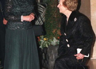 Born six months apart, Margaret Thatcher and the Queen were two women very much making their mark in a man's world
