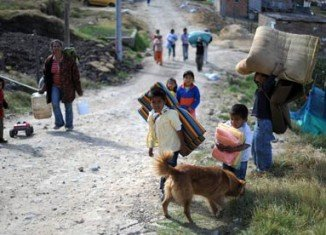 For the fourth year running, Colombia has the highest number of internally displaced people, according to the IDMC annual report for 2012