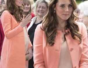 It was Kate and William second wedding anniversary, but it was business as usual for the Duchess of Cambridge as she visited Naomi House Children's Hospice
