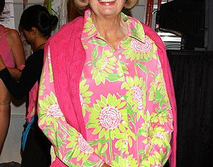 Lilly Pulitzer's tropical print dresses became a sensation in the 1960s when then-first lady Jacqueline Kennedy wore one of the sleeveless shifts in a Life magazine photo spread