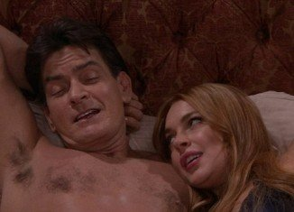 Lindsay Lohan's long awaited Anger Management episode with Charlie Sheen finally aired on Thursday
