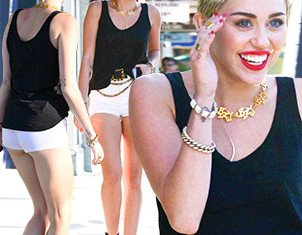 Miley Cyrus stepped out in Sherman Oaks without her engagement ring after she and Liam Hemsworth postponed this summer wedding