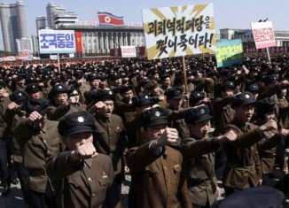 North Korea has asked foreign embassies in Pyongyang that might wish to get staff out if there is a war to submit plans to it by April 10