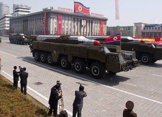 """North Korea has shifted a missile with """"considerable range"""" to its east coast"""