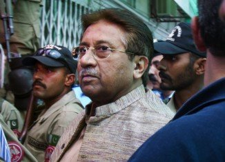 Pervez Musharraf has been remanded in judicial custody for two weeks over claims he illegally detained judges in 2007