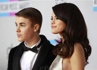 Selena Gomez was spotted flying into Norway, where Justin Bieber is currently performing for his Believe tour