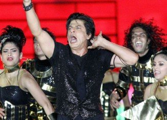 Shah Rukh Khan has performed at the opening of the sixth edition of the IPL in Calcutta