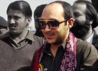 Ali Haider Gilani, a candidate for the Pakistan Peoples' Party, was seized in the central city of Multan