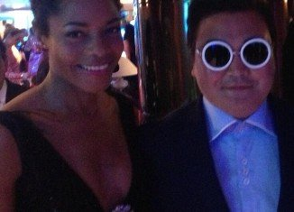 Among the celebrities duped by Psy impostor was Skyfall actress Naomie Harris