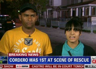 Angel Cordero claims that he was the one to save Amanda Berry from the house where she had been kept for nearly a decade