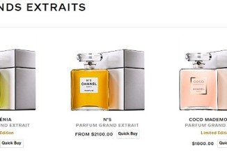 Chanel launches its most expensive perfume at $3,800 and most of that goes on the bottle