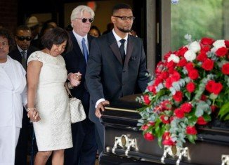 Chris Kelly of 1990s rap duo Kris Kross has been laid to rest in his home town of Atlanta, Georgia