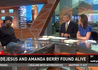 Cleveland's NBC affiliate WKYC scored an exclusive sit-down interview with Charles Ramsey, the man who discovered missing Amanda Berry, Gina DeJesus and Michelle Knight
