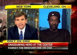 Cleveland hero Charles Ramsey appeared on Good Morning America on Wednesday morning in his latest interview