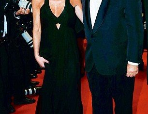 Dominique Strauss-Kahn has appeared in public for the first time with his new girlfriend Myriam L'Aouffir on the red carpet at Cannes Film Festival 2013