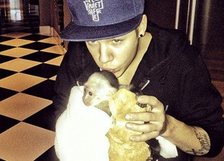 Mally, Justin Bieber's pet monkey, has been handed over to a zoo to keep after the singer failed to collect him in time
