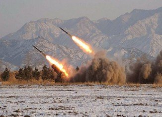 North Korea has launched three short-range missiles from its east coast