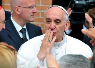 Pope Francis has condemned mafia groups for exploiting and enslaving people