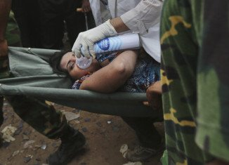 Reshma has been found in the remains of the second floor of the eight-storey Rana Plaza in Dhaka
